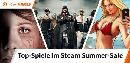 Steam: Die beliebtesten Spiele im Summer-Sale