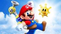 Dieser XXL-Mario ist auch ein Amiibo