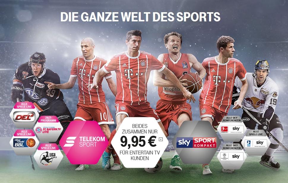 TV-Rechte: Ab sofort zeigt die Telekom Bundesliga und Champions League