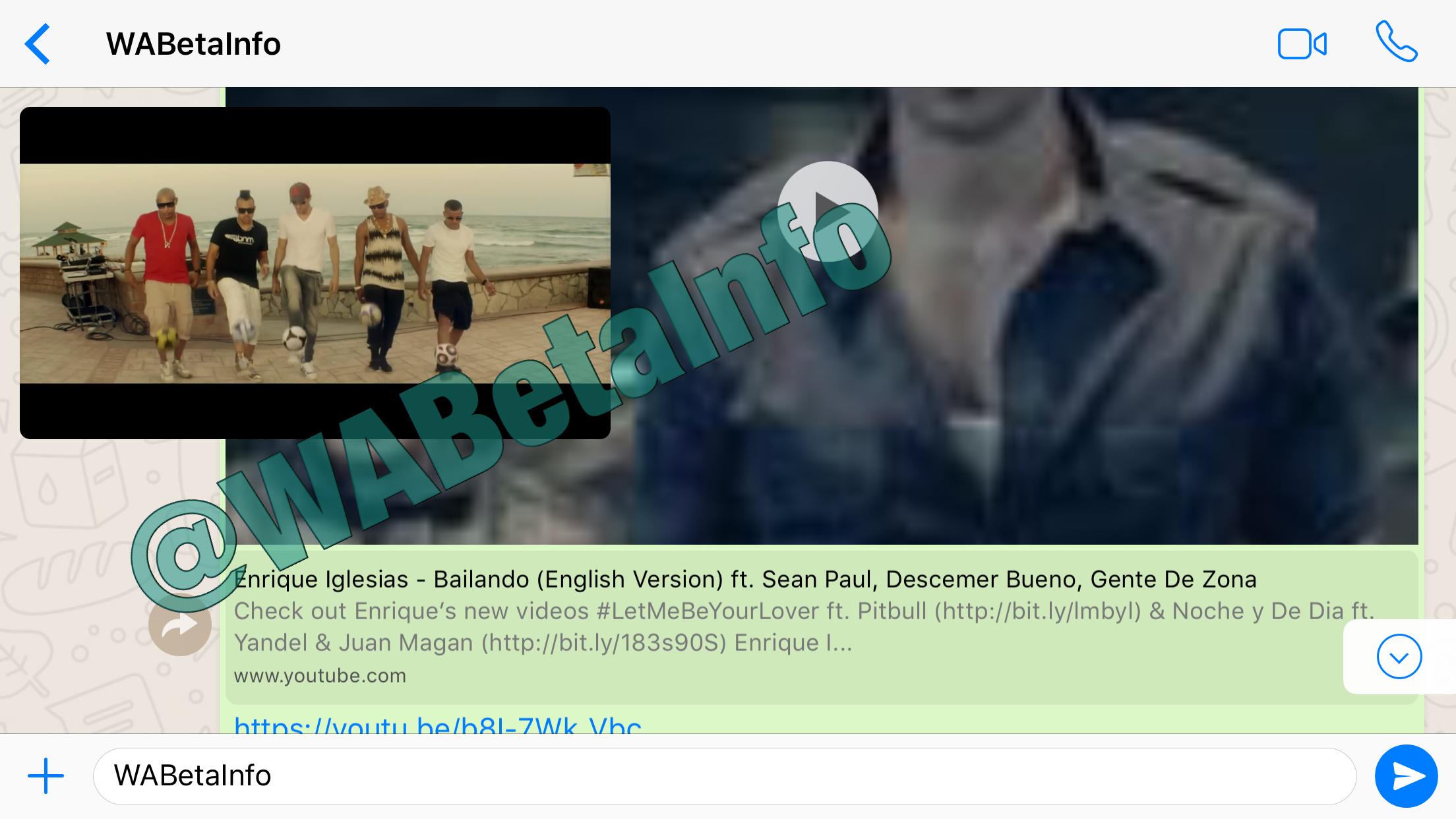 WhatsApp: Youtube-Videos im Messenger ansehen