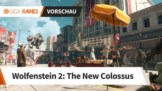 Wolfenstein 2 in der Vorschau: Im Rollstuhl gegen das Regime