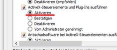 ActiveX-Steuerelement aktivieren & deaktivieren (Internet Explorer)
