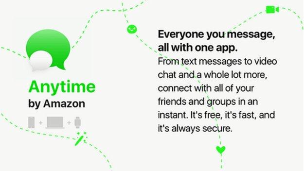 """Angriff auf WhatsApp: Amazon plant """"Anytime""""-Messenger – mit besonderen Funktionen"""