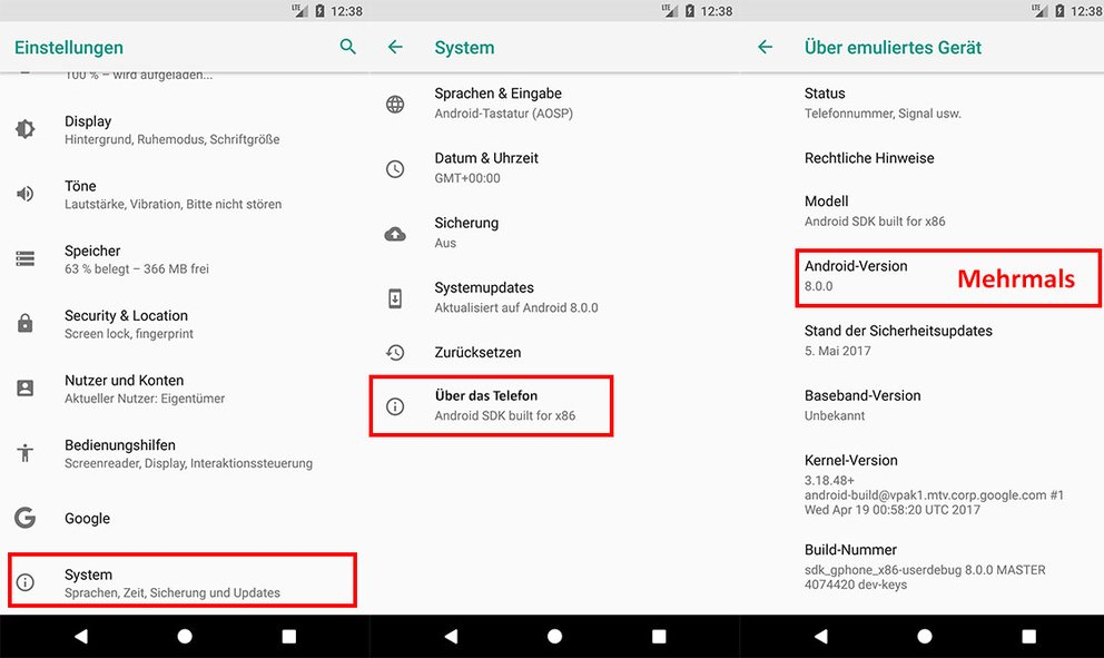 So kommt ihr zum Easter Egg in Android 8