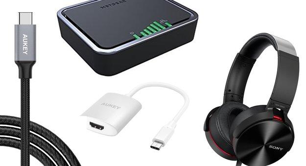 Blitzangebote: USB-C-Zubehör, Sony-Kopfhörer, 4G-Modem u.v.m. heute günstiger