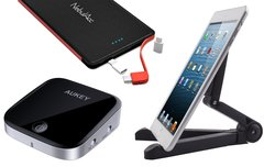 Blitzangebote: iPad-Halterung, Bluetooth-Zubehör, externer Akku u.v.m. heute günstiger