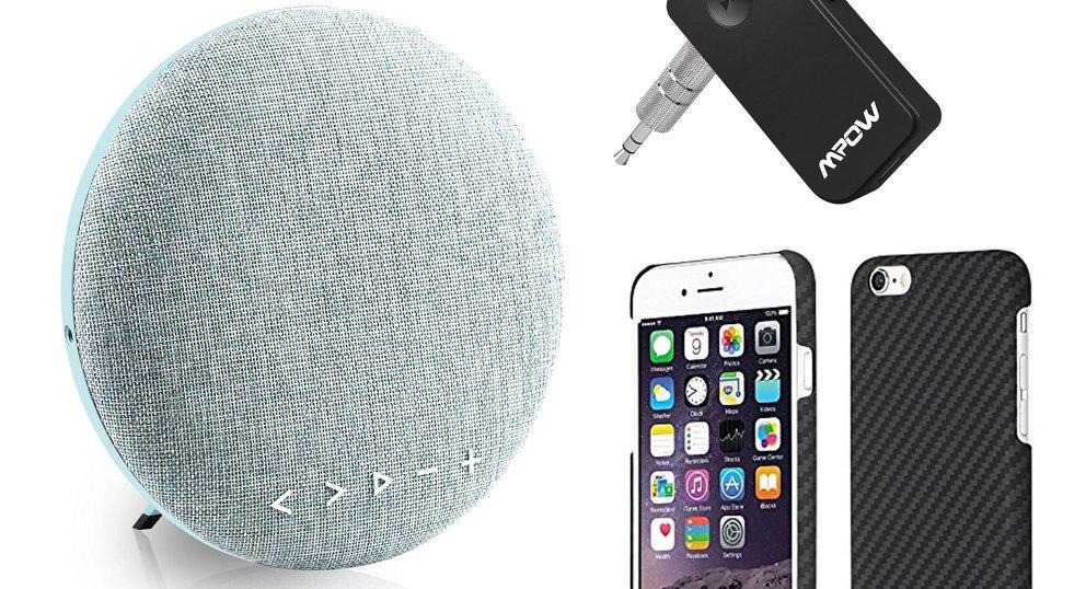 Blitzangebote: Bluetooth-Lautsprecher, iPhone-Case, BT-Empfänger u.v.m. heute günstiger