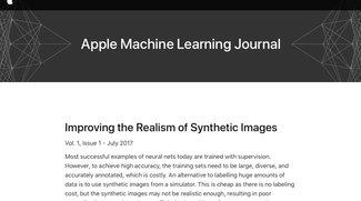 Künstliche Intelligenz: Apple plaudert aus dem Nähkästchen