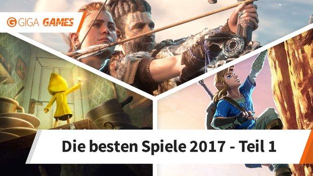 Die besten Spiele des Jahres 2017 - Januar bis Juni