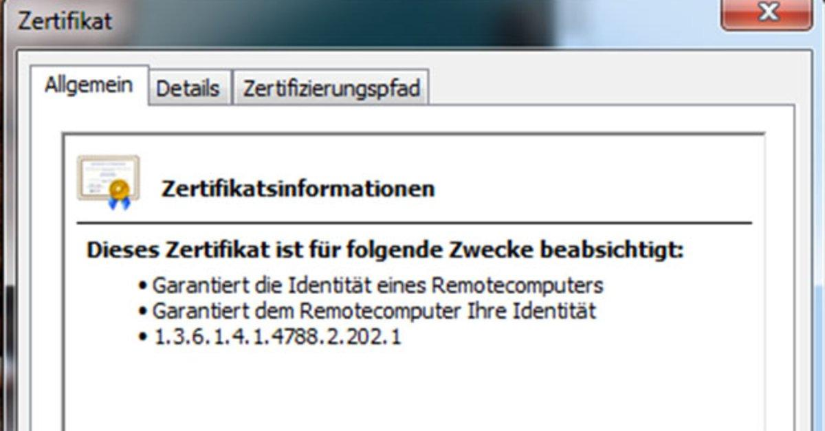 Chrome Ssl Zertifikat Anzeigen So Gehts