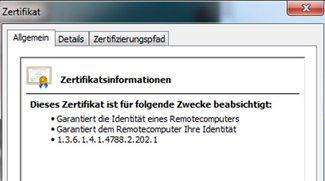 Chrome: SSL-Zertifikat anzeigen – so gehts