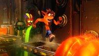 Crash Bandicoot N. Sane Trilogy: Neuauflage besetzt Platz 1 der Charts