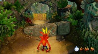 Crash Bandicoot N.Sane Trilogy: Alle Relikte in Gold und Platin für den Zeitmodus