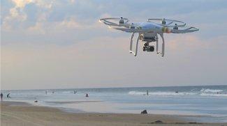 Drohnen-App der Deutschen Flugsicherung