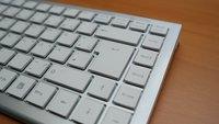 Eingabetaste (Enter-/Return-Taste) auf der Tastatur finden