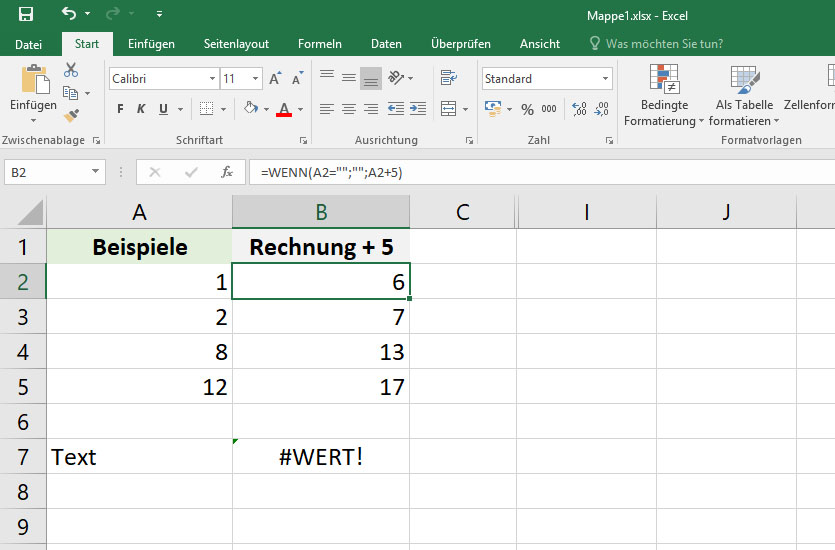 wenns excel