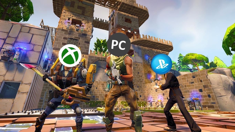 Fortnite CrossPlay CrossBuy Und CrossSave Sind Möglich GIGA - Minecraft ps4 pc zusammen spielen