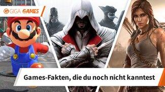 8 Gaming-Fakten, die du sicherlich noch nicht kanntest