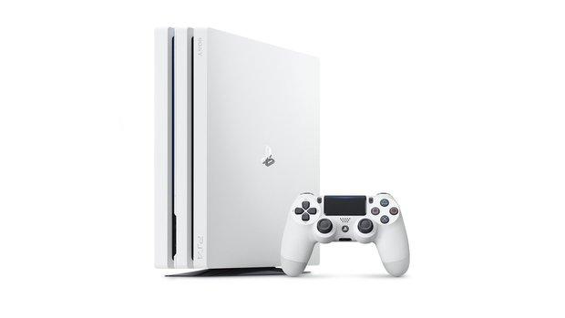 Es gibt nur einen Weg eine weiße PlayStation 4 Pro zu bekommen