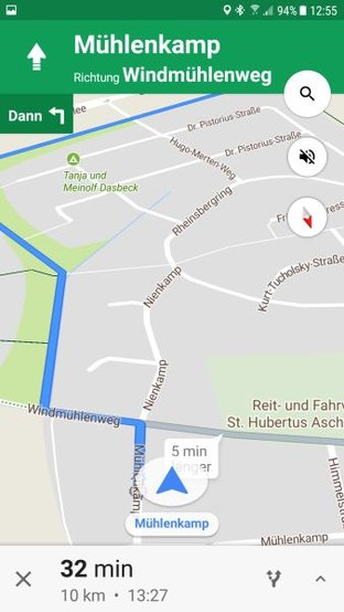 google maps fahrrad navigation einstellungen und tipps. Black Bedroom Furniture Sets. Home Design Ideas