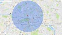 Google Maps: Radius zeichnen – Bewegungsumkreis ganz einfach anzeigen