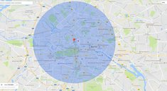 Google Maps: Radius in Karte zeichnen
