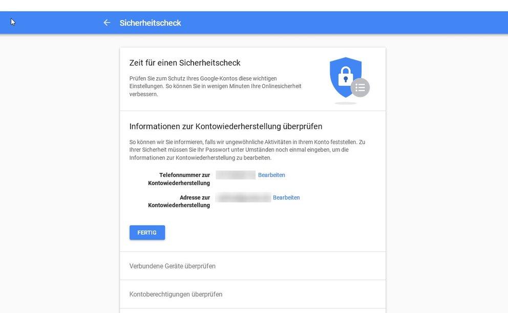 google-sicherheit