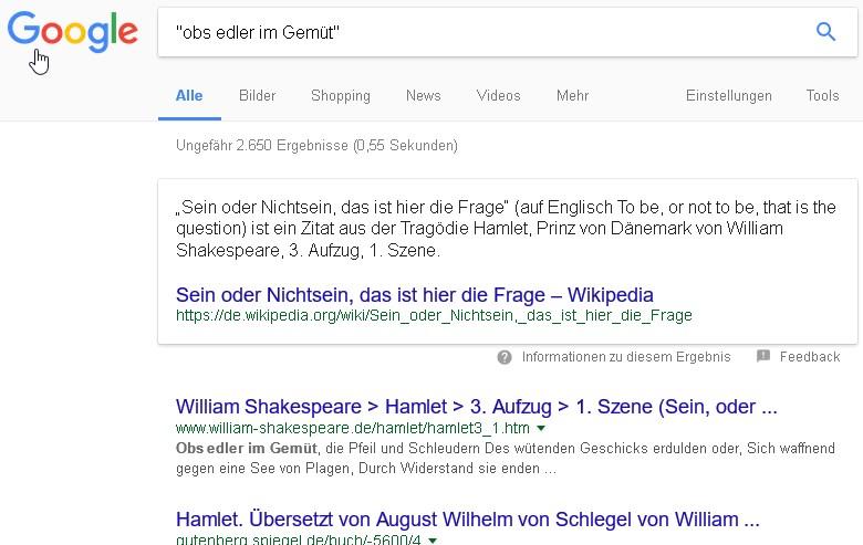 Google bilder suche
