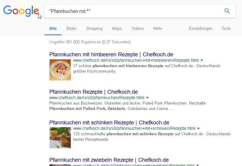 google-suche.platzhalter