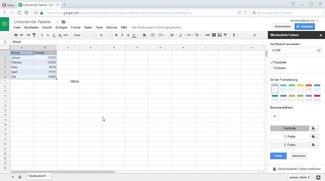 """Google Tabellen: Tipps für das kostenlose """"Online-Excel"""" von Google"""