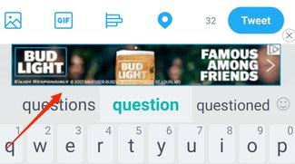 """Werbung auf der Tastatur sei ein """"Fehler"""" – behauptet HTC"""
