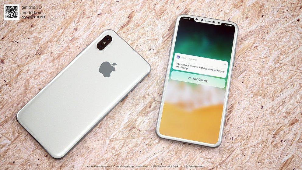 IPhone 8: Gesichtserkennung offenbar auch für Bezahldienst gedacht