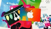 iTunes-Karten am Cyber Monday: Hier bietet Amazon Bonusguthaben