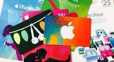 iTunes-Karten mit Rabatt im August 2018: Jetzt wieder 20 Euro Bonus geschenkt