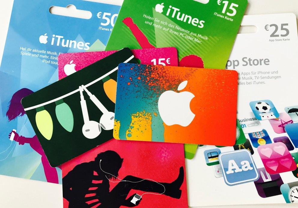 ITunes-Karten mit bis zu 20 Prozent Rabatt im August 2017