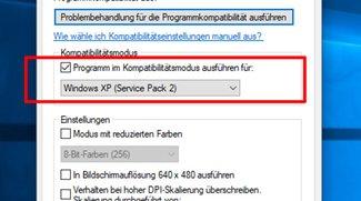 Windows 10: Ältere Programme & Spiele im Kompatibilitätsmodus starten – so gehts