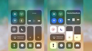 Kontrollzentrum von iPhone und iPad anpassen, so läuft's in iOS 11