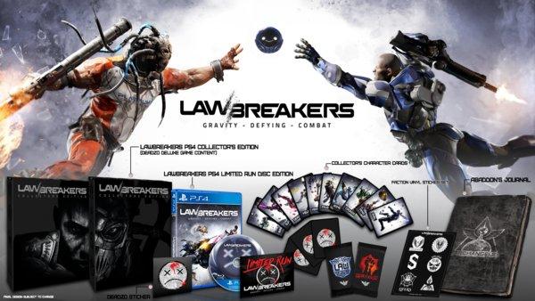 LawBreakers vorbestellen: Editionen und Vorbestellerboni im Überblick
