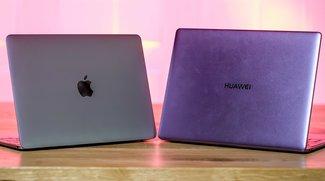 12 Zoll MacBook und Huawei MateBook X im Vergleich