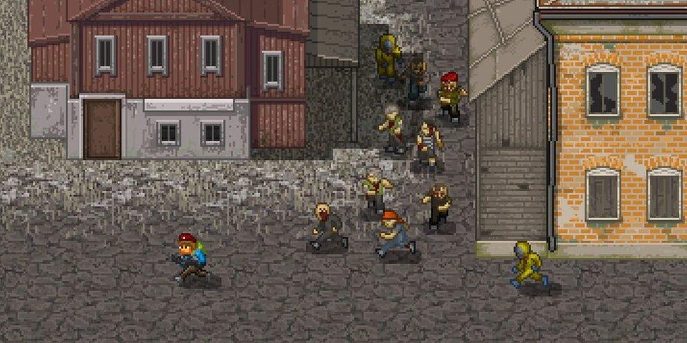 Im Nah- und Fernkampf könnt ihr die Zombies zunichte machen. Trefft ihr aber auf Horden, ergreift lieber die Flucht!