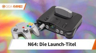 Das waren die Launch-Titel des Nintendo 64