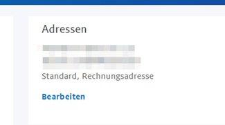 PayPal: Adresse ändern – so geht's