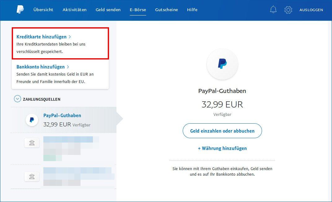 Mit Paypal Ohne Guthaben Bezahlen