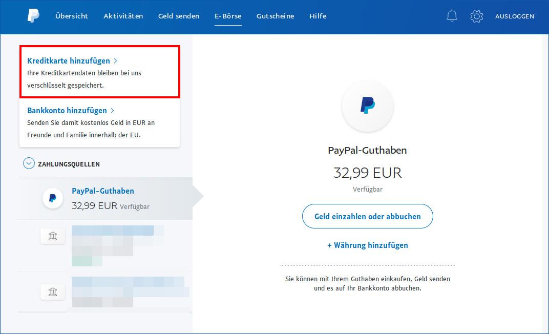 Wird Bei Paypal Das Geld Vom Konto Abgebucht