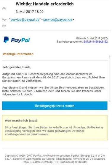 paypal-phishing-beispiel