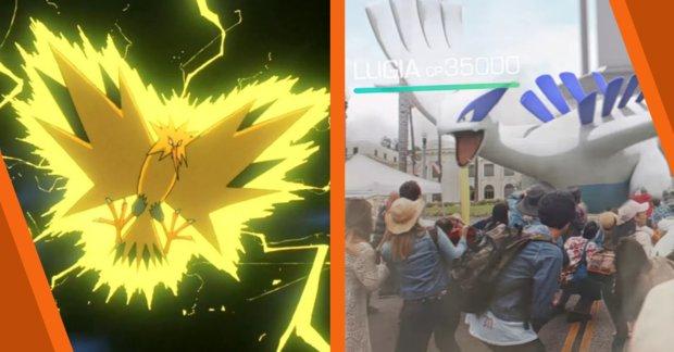 Pokémon GO: Legendäre Pokémon kommen endlich ins Spiel