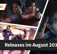 Release-Liste für August 2017: Diese Spiele erwarten dich