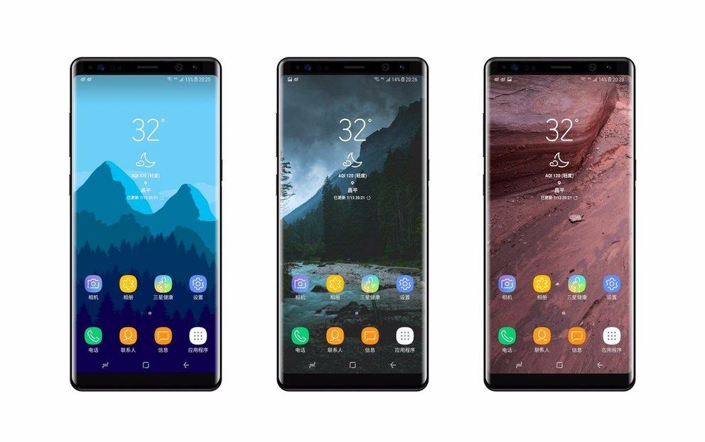 Galaxy Note 8: Samsung bringt Dual-SIM nach Europa