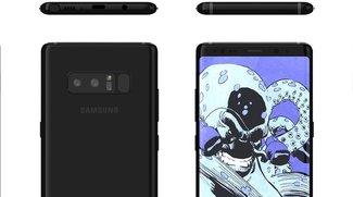 Blick von allen Seiten: So wird das Galaxy Note 8 aussehen