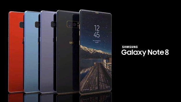 Galaxy Note 8 im Rendervideo: So schick könnte es aussehen